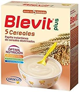 Blevit - Papilla 5 Cereales Blevit Plus 600 gr 5m+: Amazon.es: Bebé