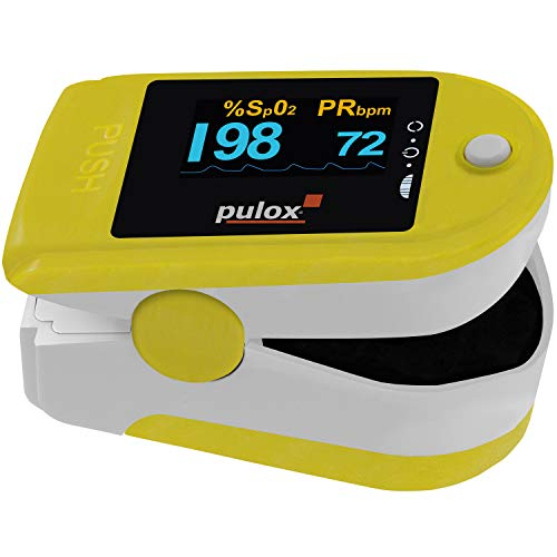 Pulsoximeter PULOX PO-200 Solo in Blau...