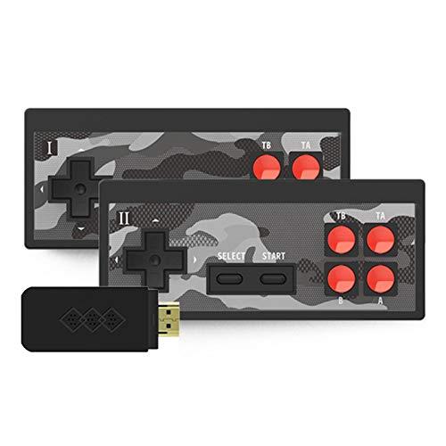 Y2SHD Plus - Consola de videojuegos, integrada en 1700 juegos clásicos, mando inalámbrico, consola de juegos, PS1/PSP HD, duplica la consola de juegos de TV
