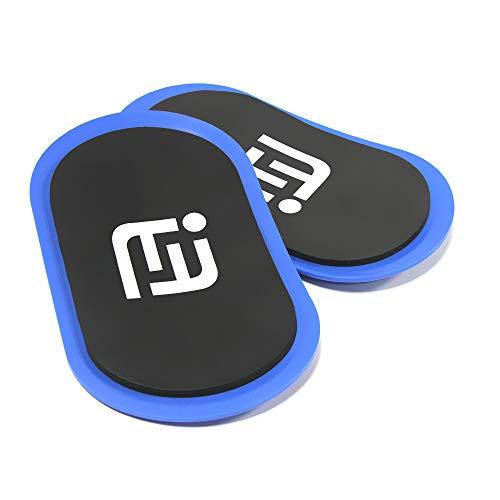 Viminston Gleitscheiben Fitness Slider-Übung core Fitness Scheibe Gym Gliding Discs für Bauchmuskeltraining Übungen Teppich Holzböde