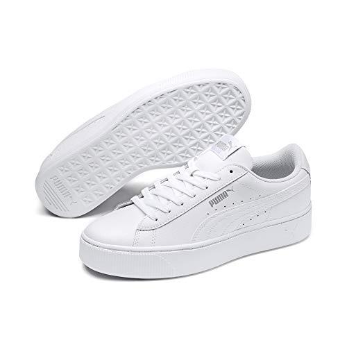 Puma Damen Sneakers Sneaker Puma Vikky Stacked L, Weiß (Puma White), 39 EU