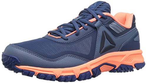 Reebok Unisex-Kid's Ridgerider Trail 3.0 Sneaker, Bunker Blue/Blue Slate/di, 1.5 M US Little Kid