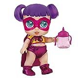 Super Cute - Super Cute Muñeca Superheroína Sisi con biberón mágico, ropa reversible y...