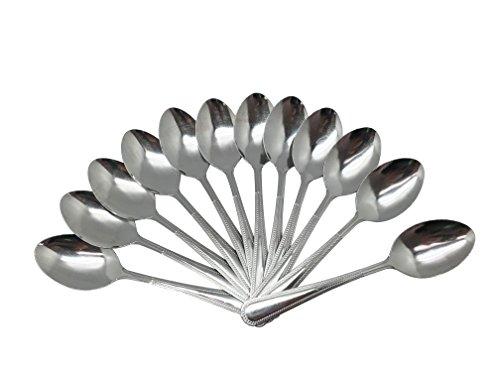 Wee's Beyond Dinner Spoon, 12 Pack, Stainless Steel