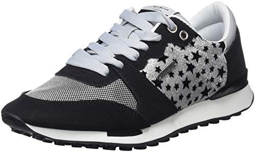 Pepe Jeans London Bimba Night, Zapatillas para Mujer, Plateado (Silver 934), 37 EU