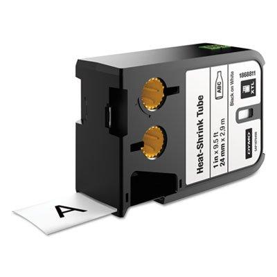 "Price comparison product image XTL Heat-Shrink Tube Labels,  1"" x 9.5 ft,  White / Black Print"