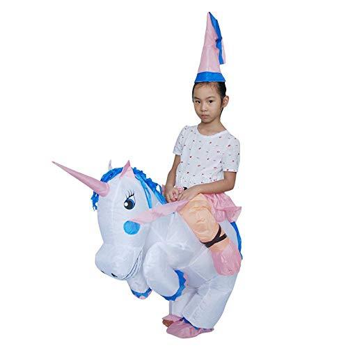 VESIFA Halloween Kostüm aufblasbar Weihnachtstier Einhorn Pferdehuhn