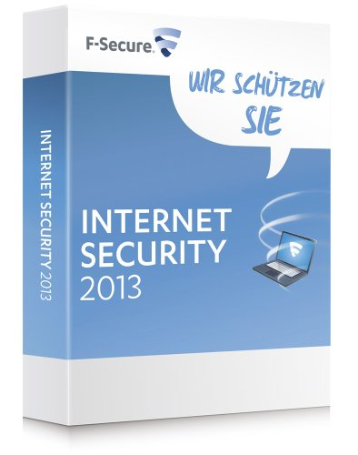 F-Secure Internet Security 2013 UPGRADE, 1 Jahr, 3 User