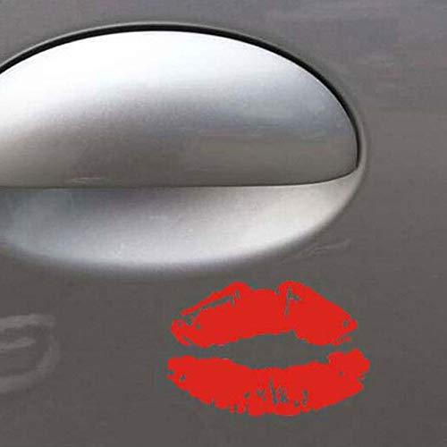 Reflecterende persoonlijkheid mode sexy lip print stickers