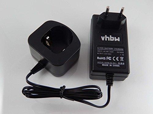 vhbw Alimentation 220V câble Chargeur pour Outils Ryobi CCD-1801, CCG-1801M, CCG-180L, CCS-1801/DM, CCS-1801/LM, CCS-1801D, CCS-1801LM, CCW-180L