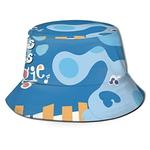 Towel&bag Blue's Clues Blues - Sombreros plegables para playa, unisex, para pescador