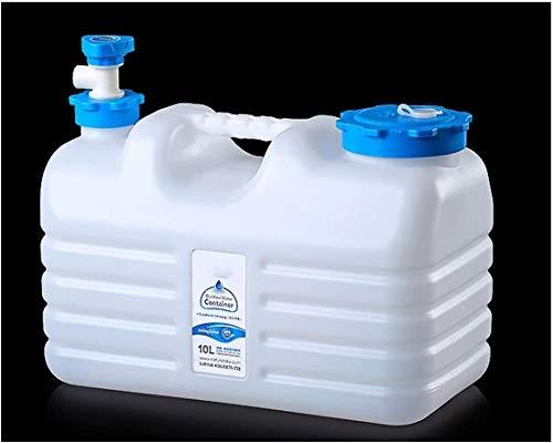 XHP Cubo de agua con grifo recipiente de agua con grifo, tanque de agua portátil para camping, senderismo, escalada, al aire libre, pesca, viajes (tamaño: 12L)