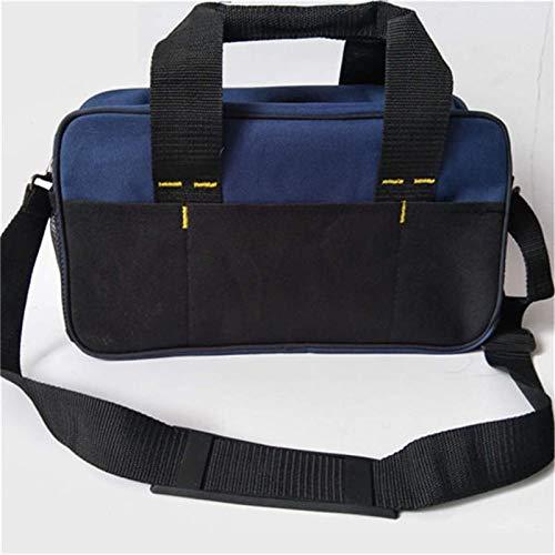 Bolsa de herramientas 600D para reparación de herramientas, bolsa de almacenamiento resistente, organizador de equipaje, soporte para maletas, para el hogar, carpintería, maletín de herramientas
