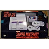 nes super mario - Super Nintendo (SNES) System with Super Mario World