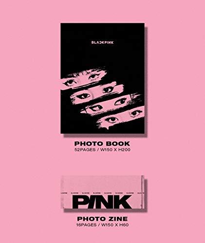 YG Blackpink - Kill This Love [Pink ver.] (2nd Mini Album) CD+52p Photobook+Lyrics Book+4Photocards+Polaroid Photocard… |