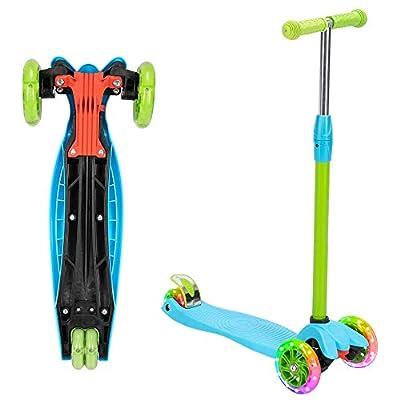 Lovinland 3 Wheel Kids Scooter 3 Height Adjusta...