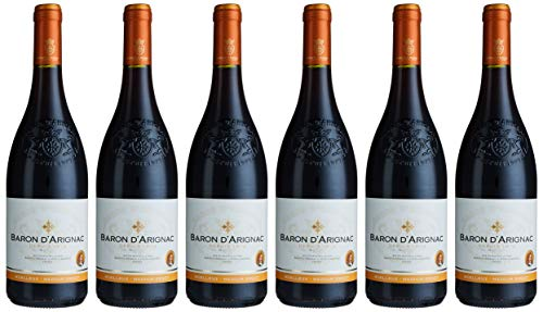 Baron d\'Arignac Vin communauté européenne Lieblich rotwein (6 x 0.75 l)