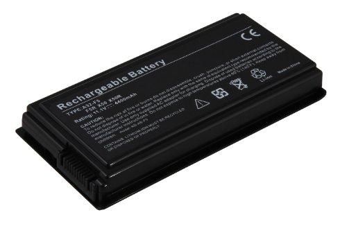 4400mAh batterie de remplacement ordinateur portable notebook pour Asus F5 F50 F52 F5000 X50 X58 X59 Pro5 Pro50 Pro55 Pro58 Pro59 remplace 70nlf1b2000 70nlf1b2000y 70nlf1b2000z 70nlf1b2200z 90nlf1b2000y a32-f5 a32-x50 batas2000