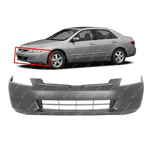 Front Bumper Cover Compatible with HONDA ACCORD 2003-2005 Primed Sedan
