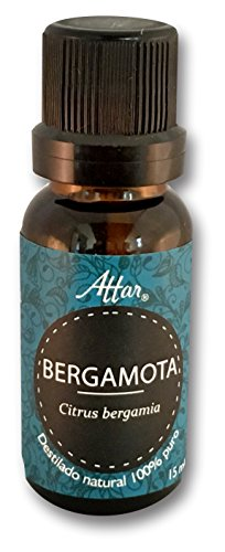 Aceite Esencial de Bergamota 100% puro, natural Attar 15ml