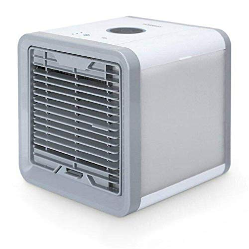 YANGSANJIN Mini-Luftkühler, tragbare DREI-in-Eins-Klimaanlage, Luftbefeuchter, Luftreiniger, Blateless-Lüfter mit USB-Desktop-Kühlung, DREI-Gang-Einstellung, mit 7-Co