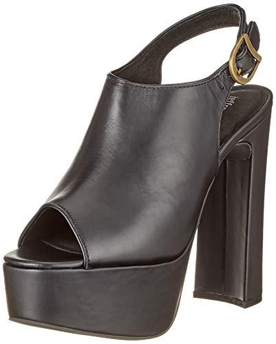Mystique 2577, Damen Sandalen/Fashion-Sandalen, Schwarz (Black Calf), EU 40 (US 9)