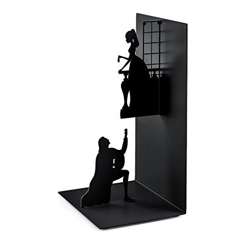Romeo & Julia aus schwarzem Metall