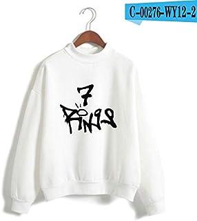 35 styles Fall/winter hot style WISH Ariana Grande thank u, next 7 rings adult kids 3D hoodie teenager men/women Children ...