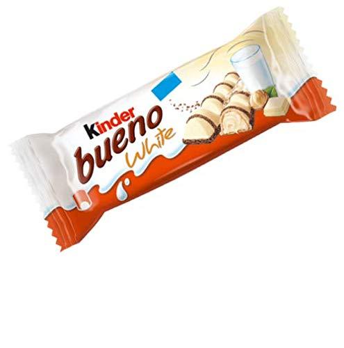 15x Kinder Ferrero Bueno White Doppelriegel a 39g Ferrero Riegel Schokolade