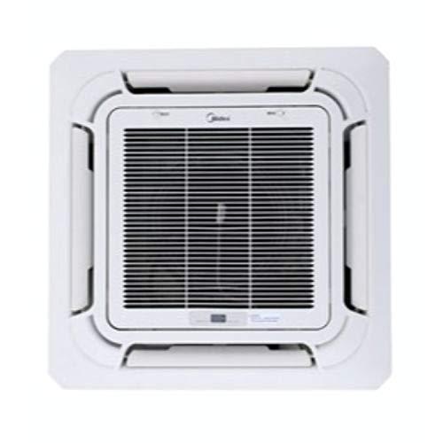 Unidad interior climatizadora Excellence VRF, modelo MI2 45Q4CDN1, tipo encastrado, cassette de cuatro vías a expansión directa, 64,8 x 64,8 x 26 centímetros, color gris (referencia: CE-MBQ-03C4)