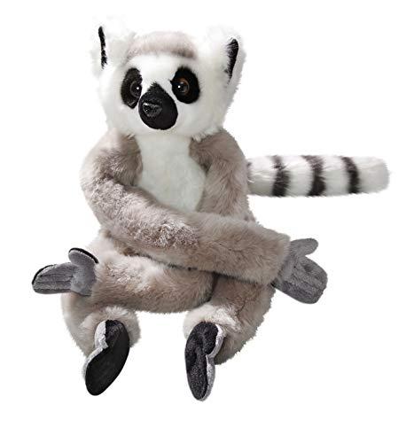 Carl Dick Katta, Lemur mit Klett mit Klett an Hand und Fuß aus Plüsch ca. 22cm sitzend, ca. 53cm hängend 3488