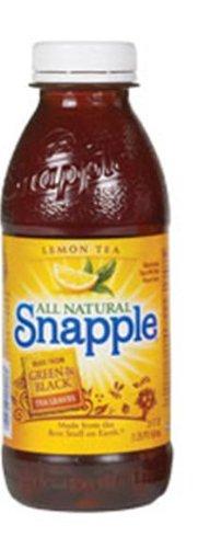 Snapple Lemon Tea, 20-Ounce Bottles (Pack of 24)