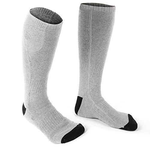 Calcetines de algodón con calentador de pies para hombres y mujeres, regalos de invierno ideales para acampar al aire libre, protección contra el frío térmico, calcetines deportivos