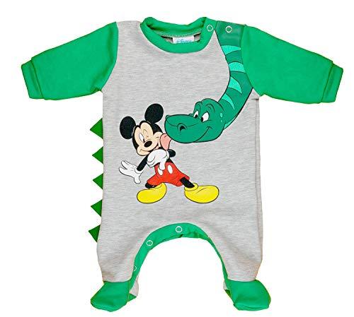 Kleines Kleid Mickey Mouse Strampler Warm Farbe Modell 10, Größe 62