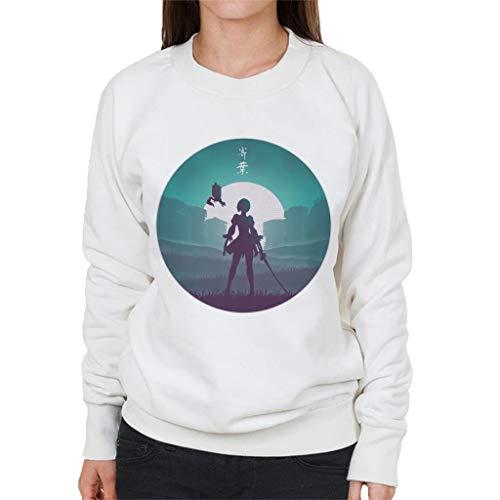 Cloud City 7 Battle Android Nier Automata Women's Sweatshirt
