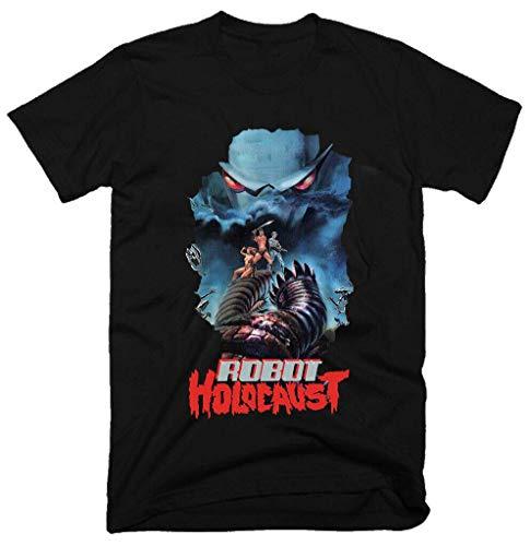 shangfeng Robot Holocausthorror1986 100% Cotton Mens T-Shirt Size S-3XL 230
