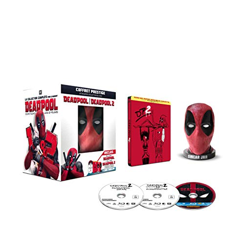Deadpool + Deadpool 2 [Édition exclusive Amazon.fr limitée - Boîtier SteelBook + Tirelire]