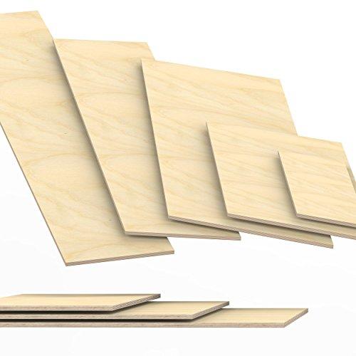 9mm Panneau de contreplaqué débité à 200cm en longueur panneaux multiplex: 200x20 cm