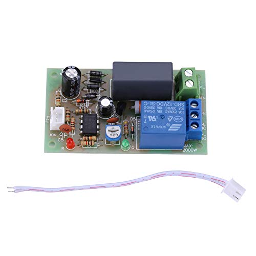 Temporizzatore del Ritardo Controllo Relè Interruttore Regolabile Modulo 1s-60s / 1s-5min AC220V (1 secondo ~ 60secondi)