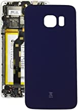 DEAN Phone Compatible With Samsung Galaxy S6 Edge / G925 Parts Battery Back Cover Authentic Quality (Color : Dark Blue)