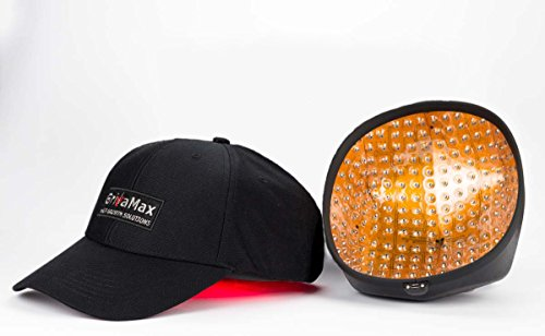 Laser Cap GrivaMax 272 Pro FDA Cleared Hat for Hair Regrowth Medical Treatment Alopecia - Promotion Therapy Follicles of Thin Hair Loss for Men and Women with Balding LLLT 650nm Portable Laser Helmet