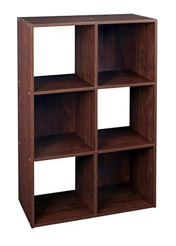 ClosetMaid 4104 Cubeicals Organizer, 6-Cube, Dark Cherry