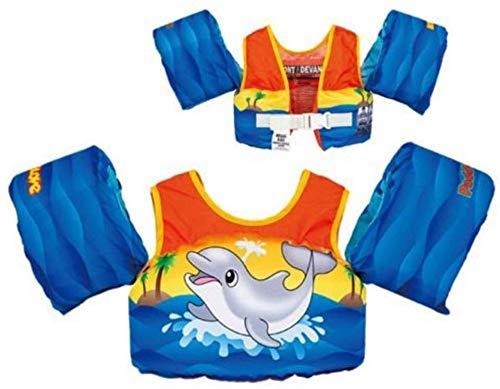 Sport Dimension Body Glove Dolphin Motion Puddle Jumper Swim Life Jacket
