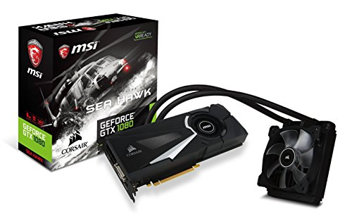 MSI Gaming GeForce GTX 1080 Sea Hawk X Grafikkarte8GB GDDR5DirectX 12VR Ready (GeForce GTX 1080 Sea Hawk X)
