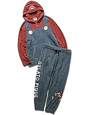 [ジェラート ピケ] 【スーパーマリオ】【HOMME】マリオパーカー&ロングパンツ セット PMNT214155 メンズ