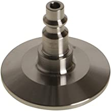 Air Hose Quick Disconnect | Tri Clamp 1.5 inch x 1/4 in. Industrial - Stainless Steel SS304 - Glacier Tanks - (5 Pack)