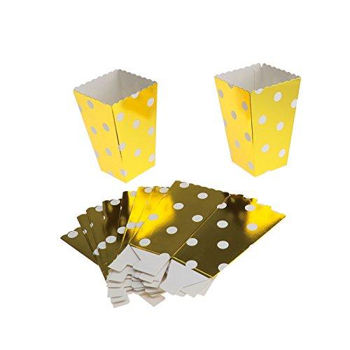 ENET 100Jumbo Dots Geburtstag Party für Beute Container Papier-Staubsaugerbeutel Set