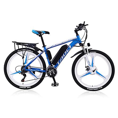 TAOCI Bicicletas eléctricas para adultos, aleación de magnesio, bicicletas todo terreno, motor de 350 W, 26 pulgadas, 36 V, bicicleta de montaña para hombre al aire libre, ciclismo, viajes