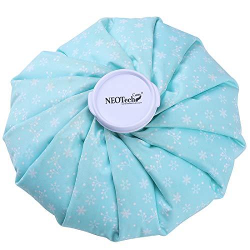 Neotech Care - Sacca per ghiaccio - coperchio superiore a vite per cold pack - riutilizzabile e flessibile (Neve, 20cm)