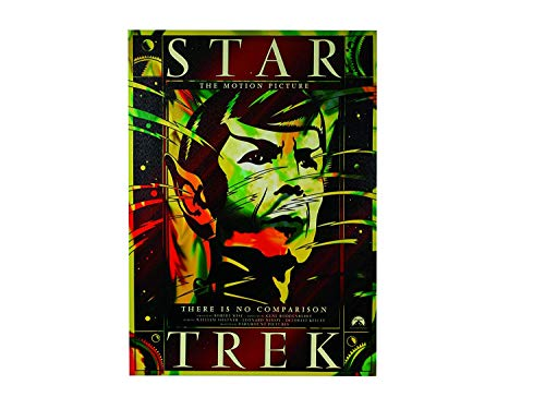 The Ultimate Gift Company Filmplakat Leinwand Star Trek Mr. Spock Filmplakat 50x70 cm Der Film